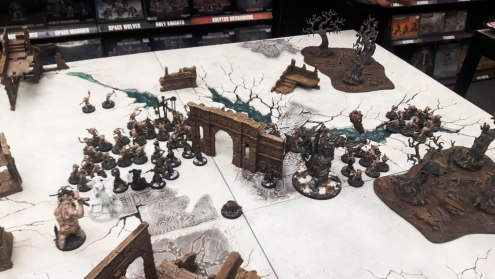 Battle Azog's Legion Vs Goblin Town