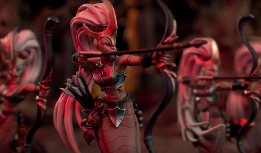 Naga with Bows
