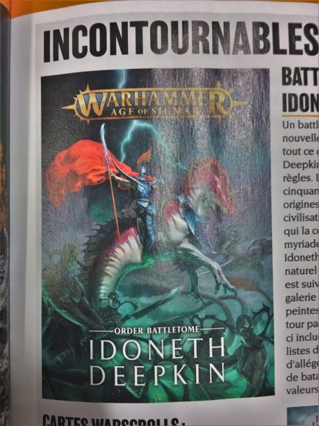 The Cover of the Warhammer Age of Sigmar - Order Battletome - Idoneth Deepkin