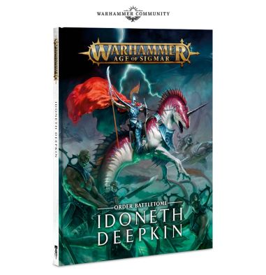 Idoneth Deepkin Battletome cover.