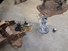 The last combat between the Thralls and the Glade Guard