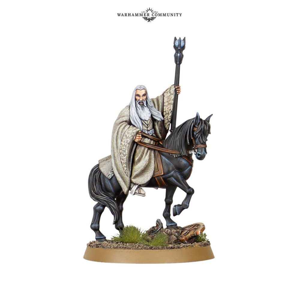 Saruman the White on Horse